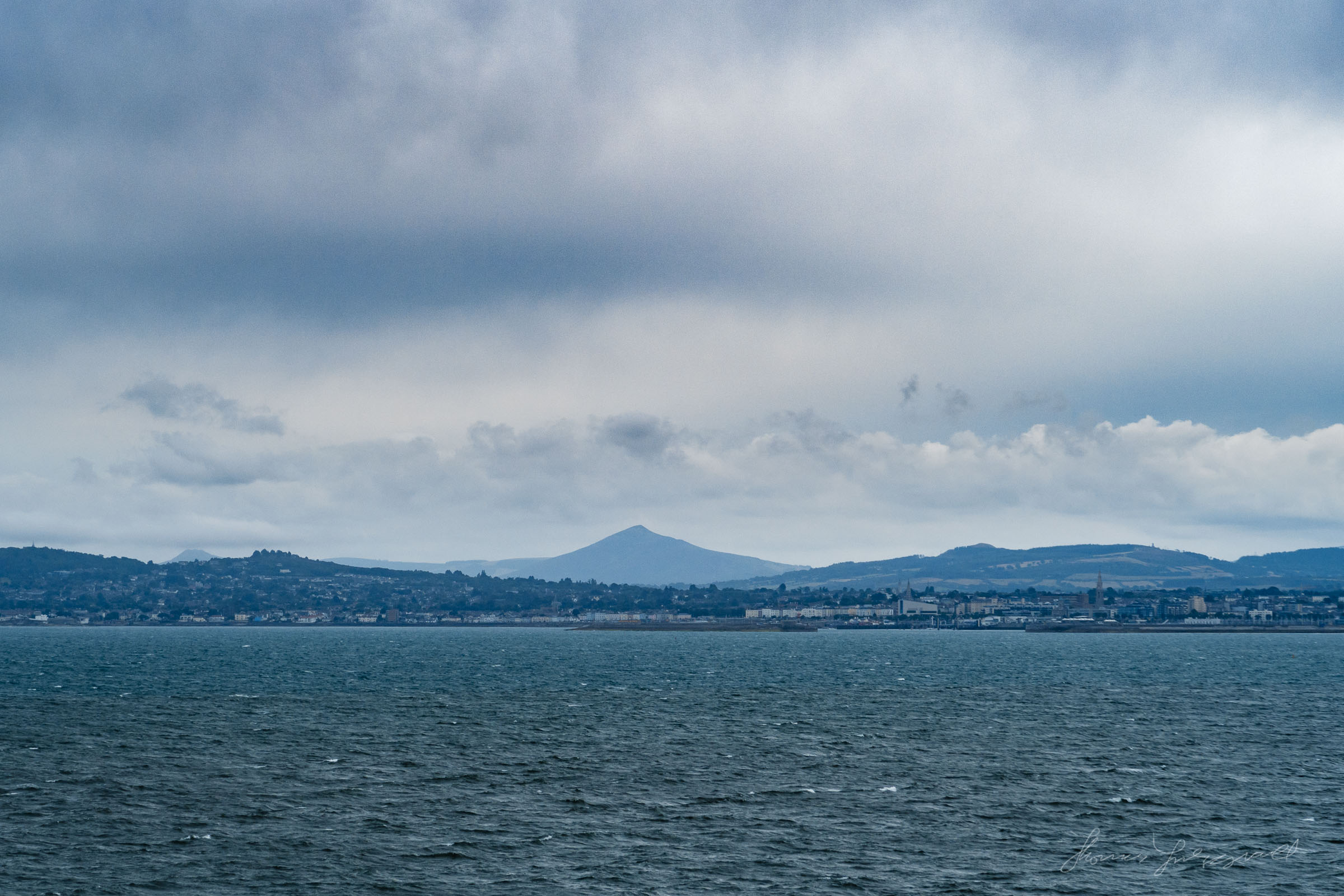 Wicklow's Sugar Loaf as seen from the Sea