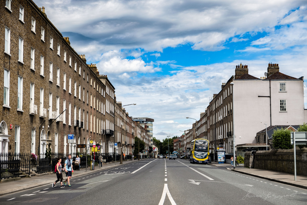 A summer's day on Leeson Street