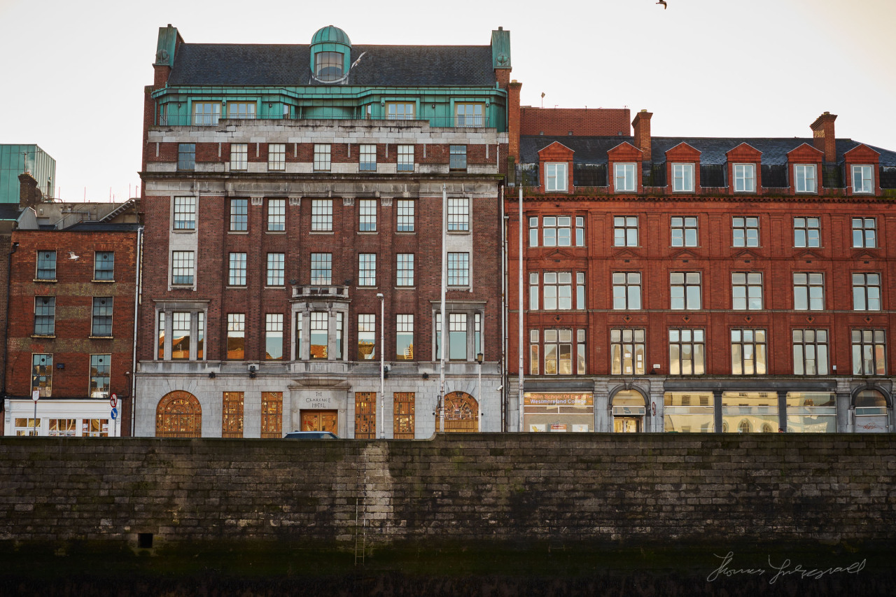 The Clarence Hotel on the quays