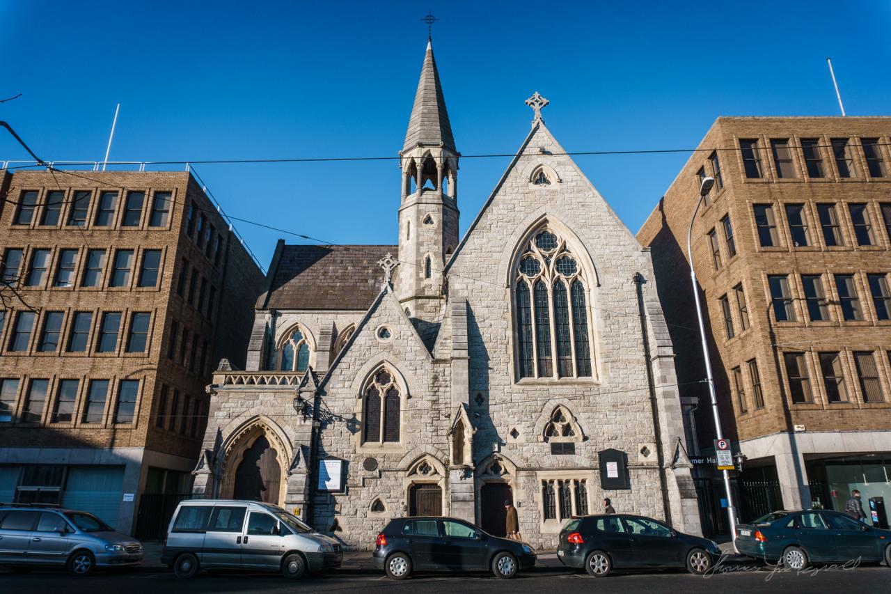 Unitarian church near Stephen's Green