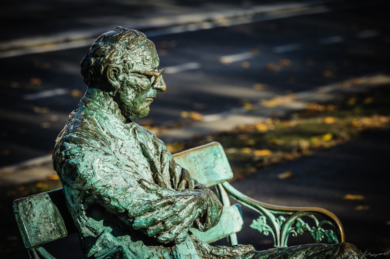 Patrick Kavanagh and Autumn Leaves