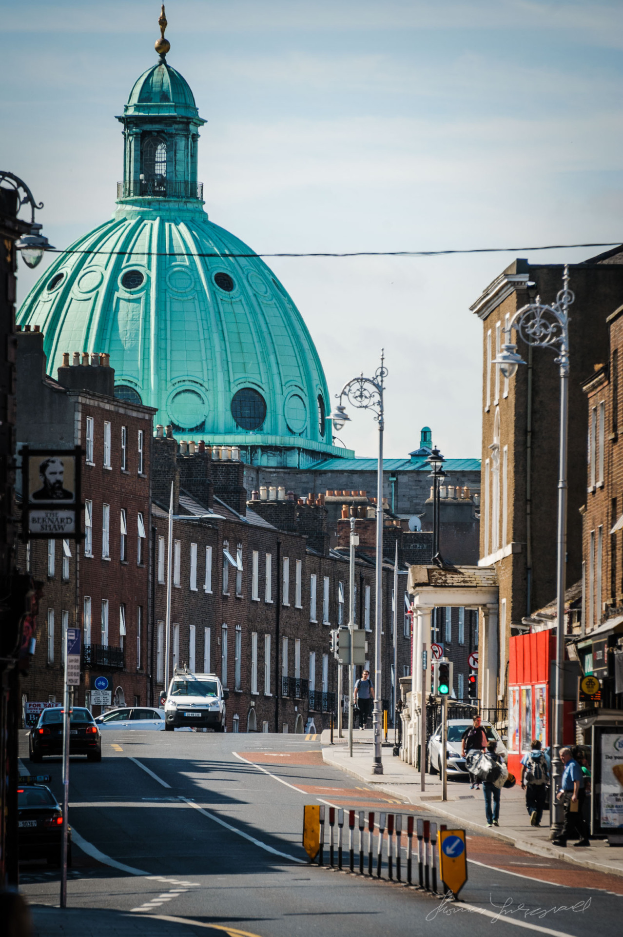 Green dome from church in Rathmines