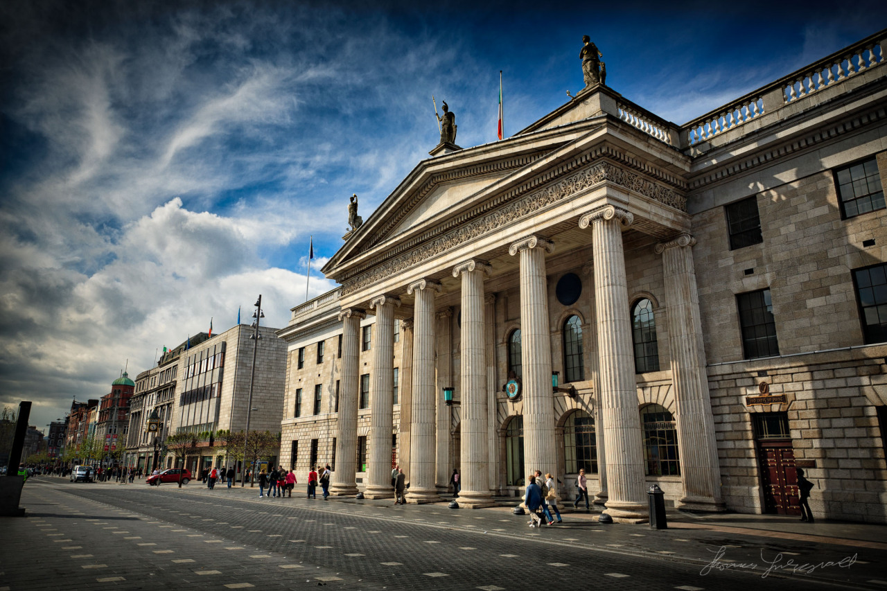 The GPO standing tall