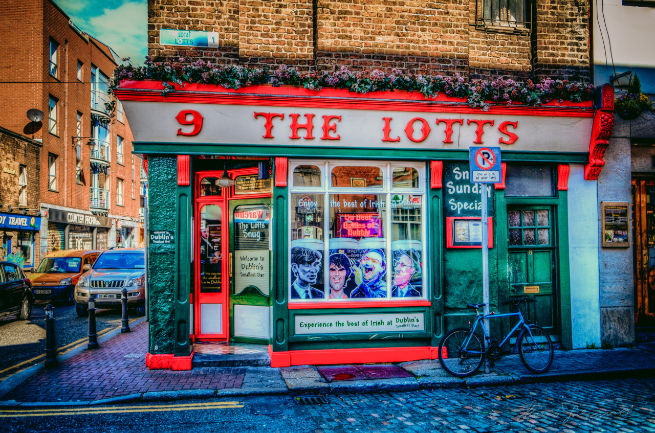 The Lotts Bar, Just off Liffey Street in HDR