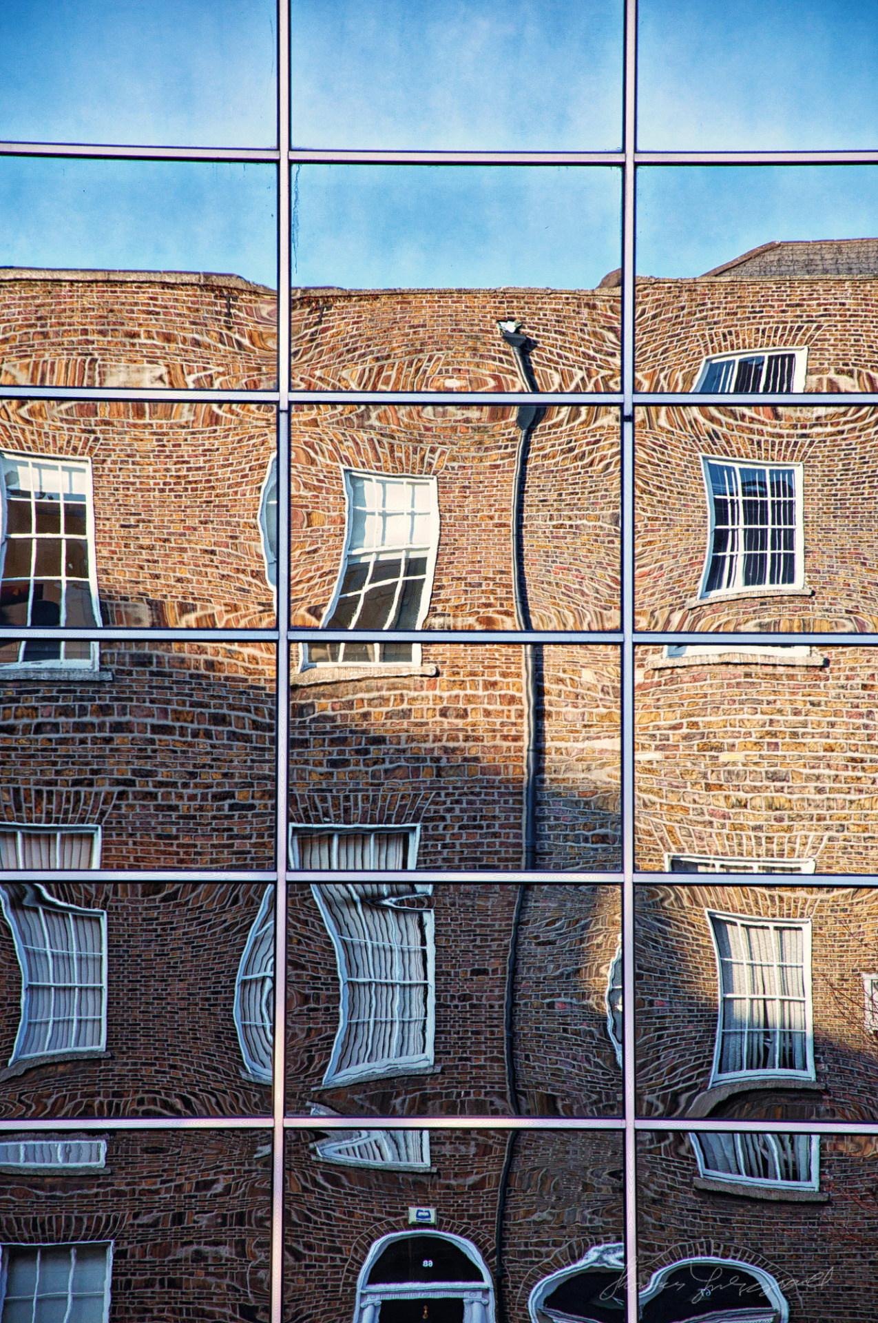 Reflections of Baggot Street