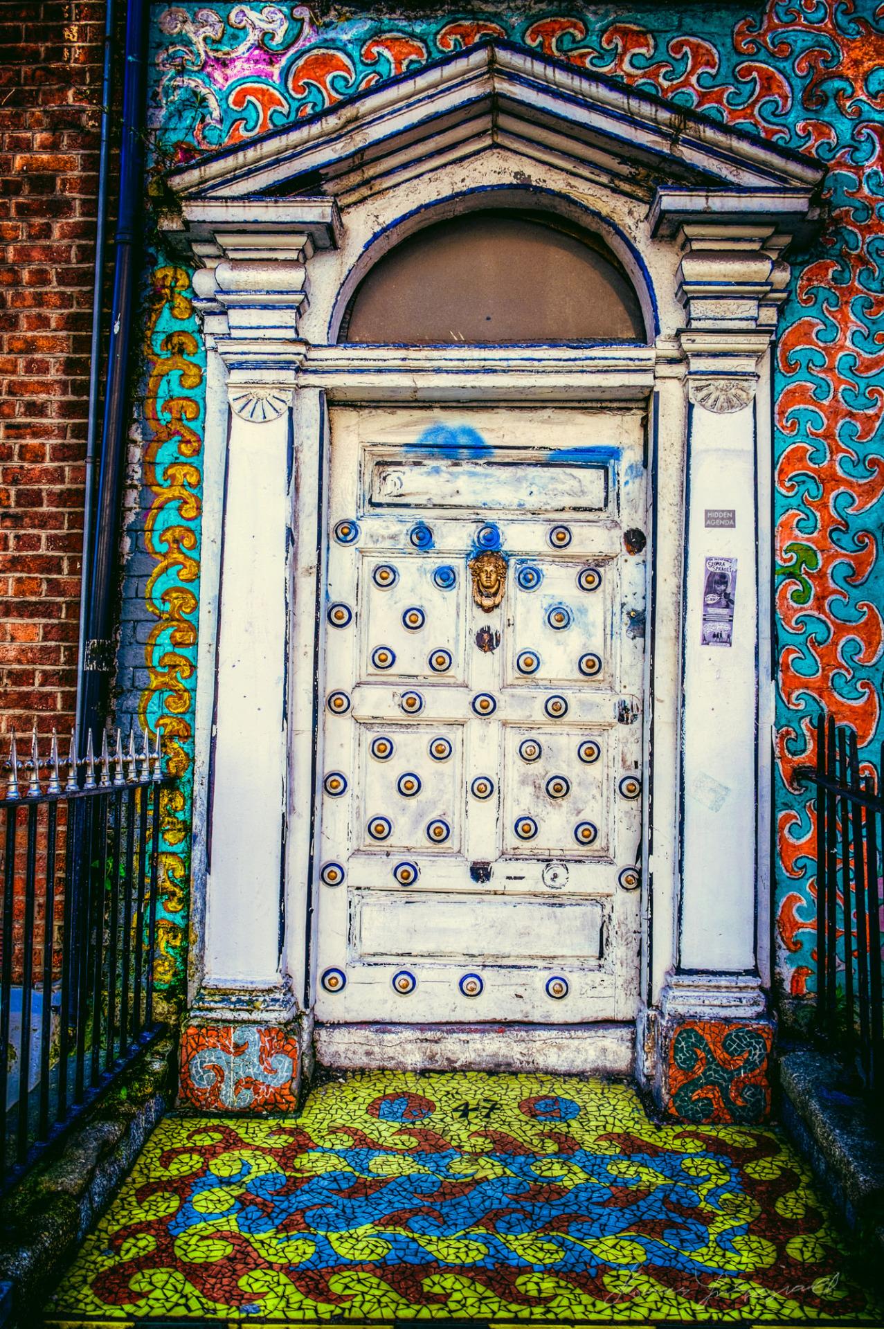 My Favourite door in Dublin City. It's on Abbey street.