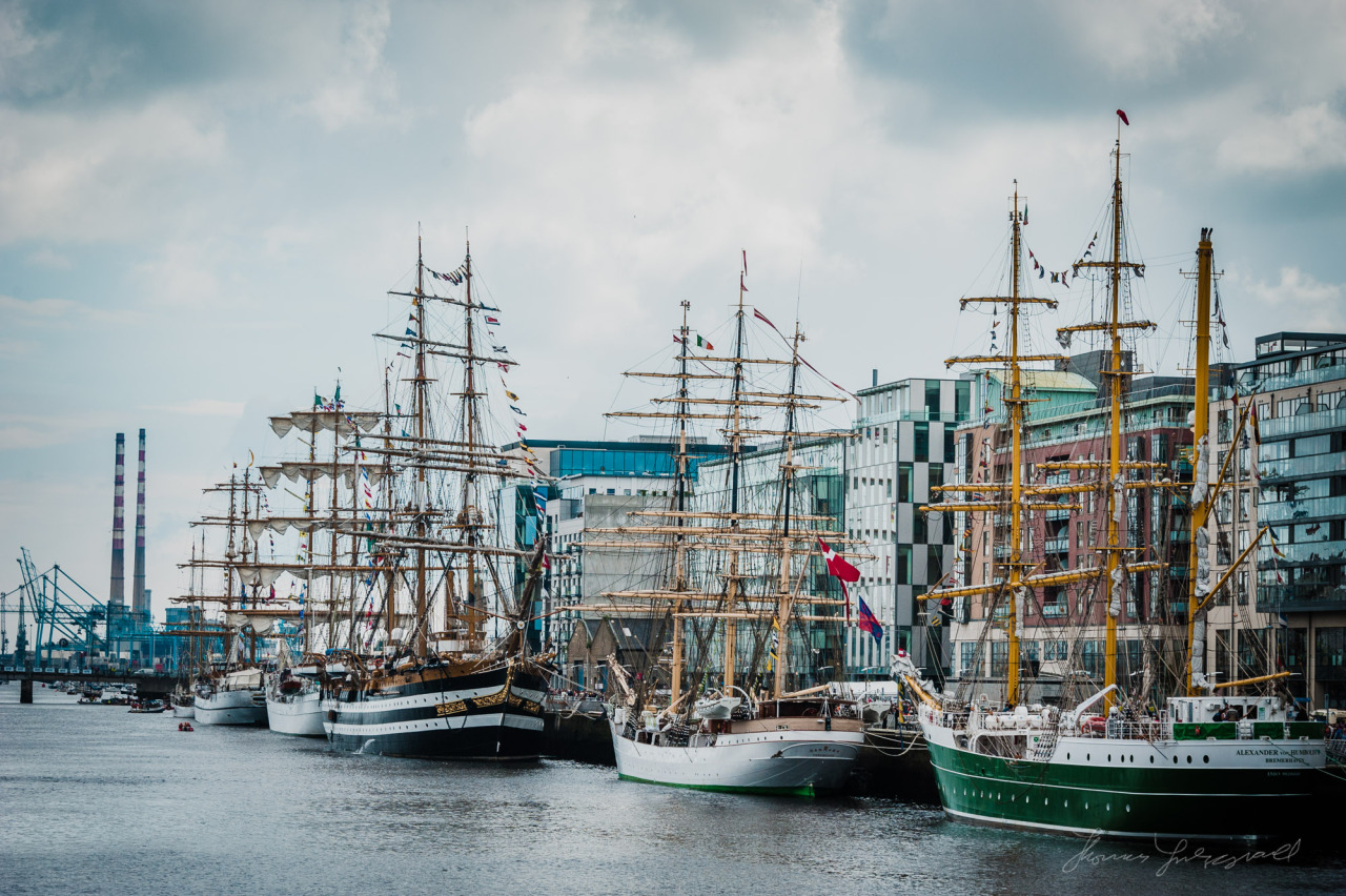 Tall Ships on the Liffey - Taken during the tall ships festival in 2012