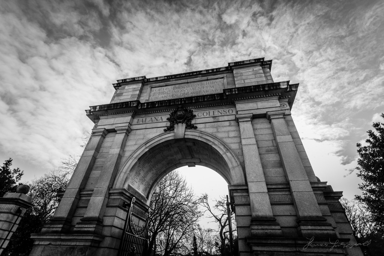 The Arch at the Enterance to Stephen's Green