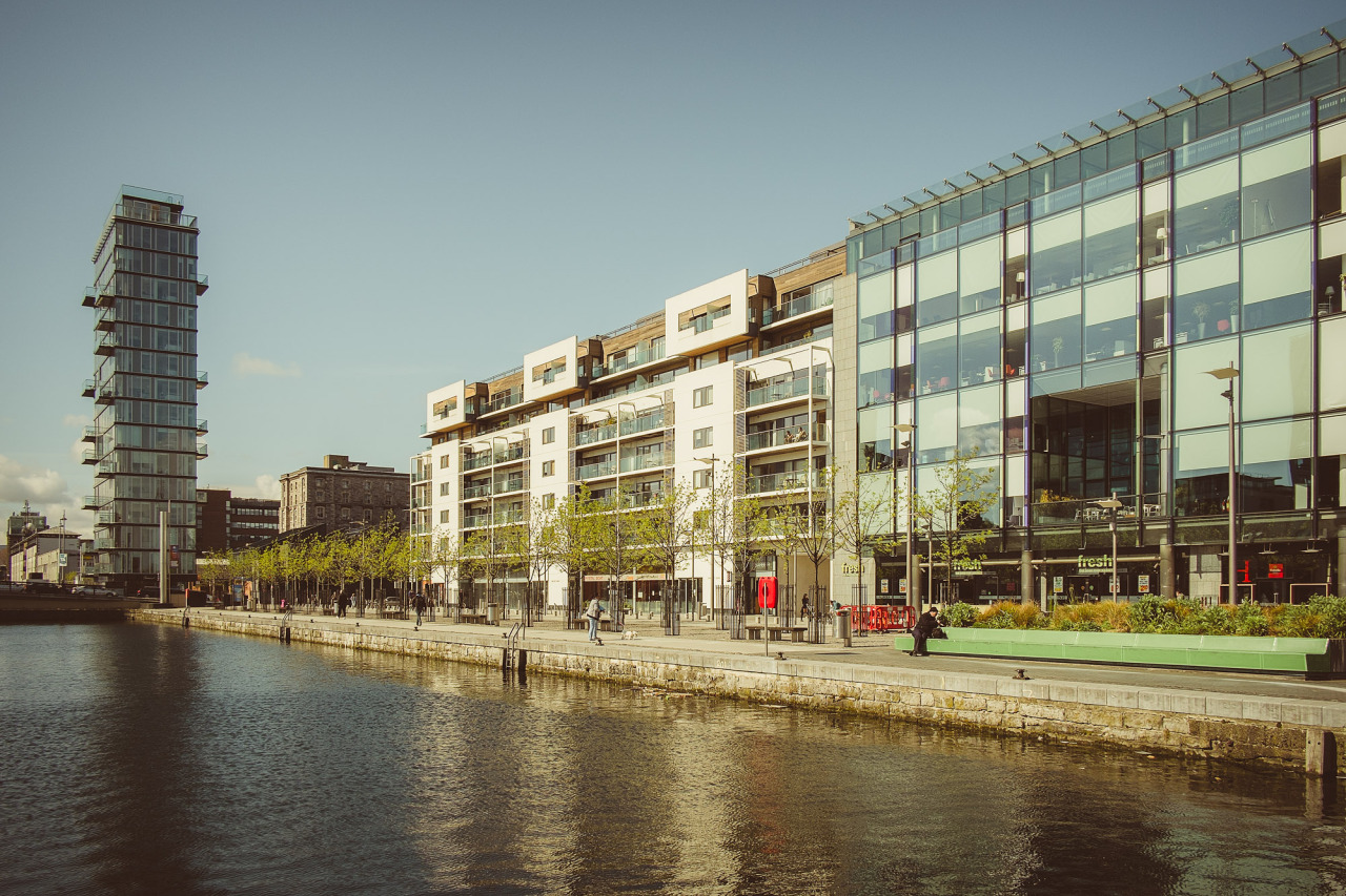 The Docklands On A Summer Morning