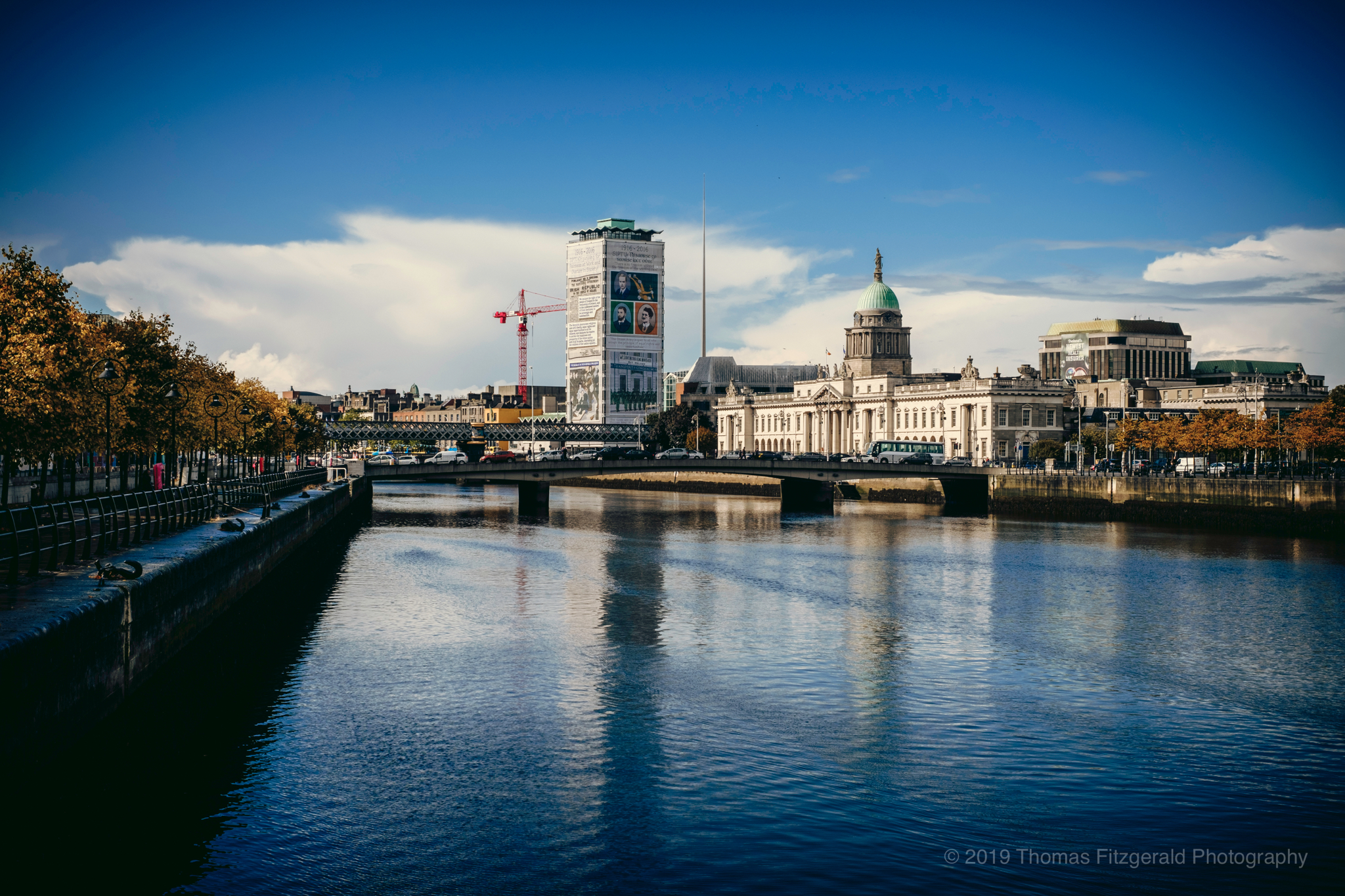 The Custom House and The Liffey