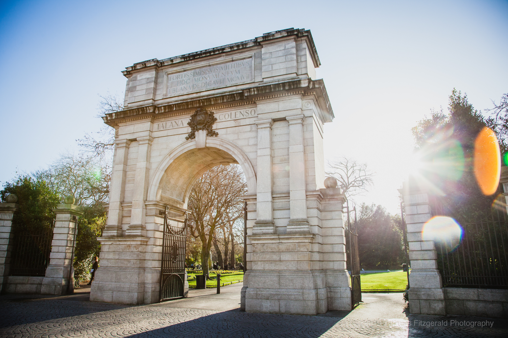 Arch at Stephen's Green