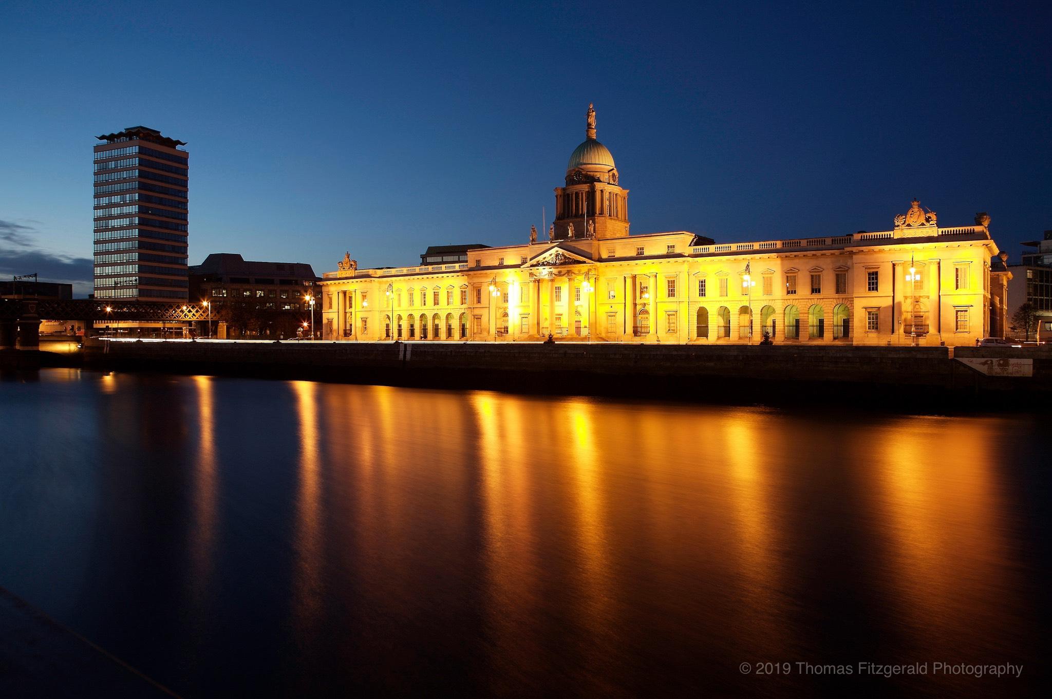 Dublin City Custom House