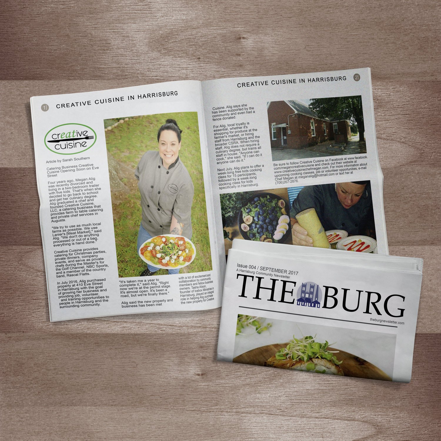 THE BURG NEWSLETTER