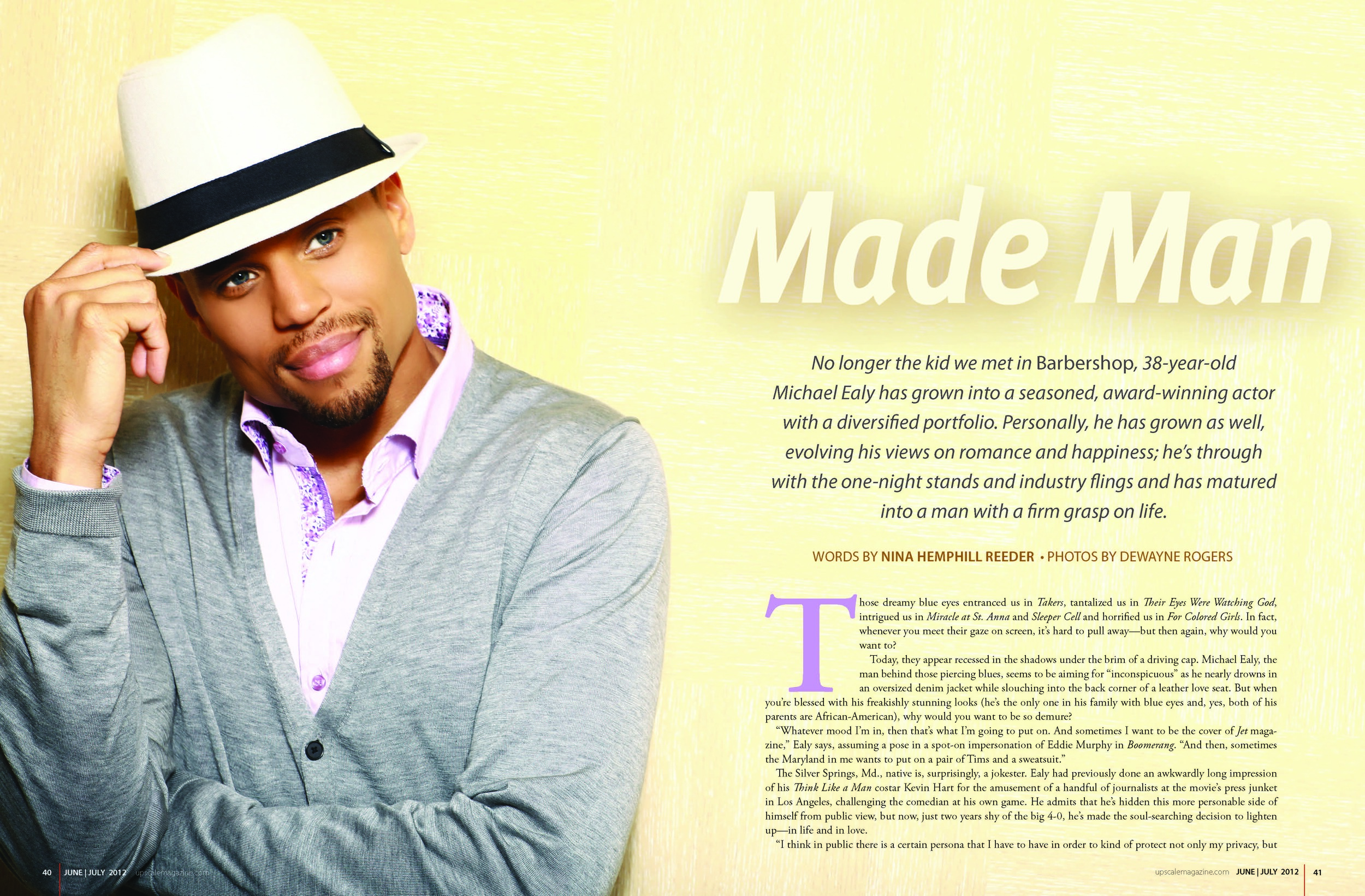Cover Story with Michael Ealy