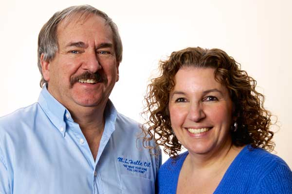 Roger Davis and Pam Giordano, M.L. Halle Oil