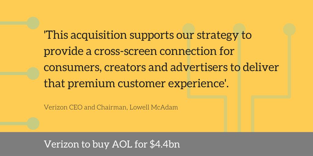 verizon aol $4.4 billion