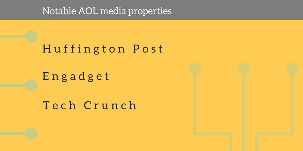 aol media properties