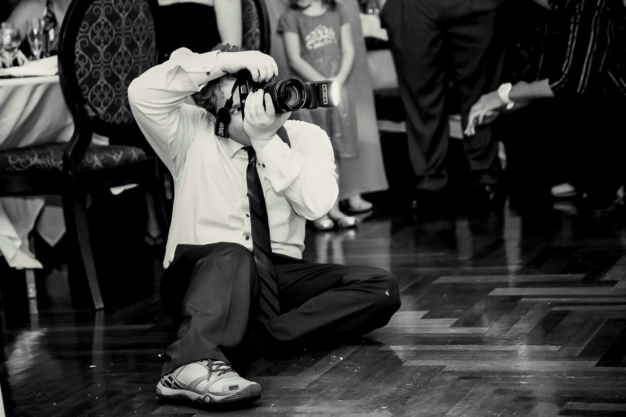And that's what a passionate wedding photographer does. : ) - Louis Torres