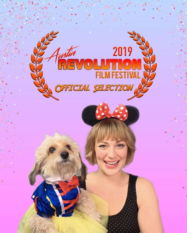 LadyTips is goin' to Austin! ✨💅🏼 @austinrevolution . . #filmfest #austinrevolurionfilmfestival #webseries #ladies #ladytips #indiefilm #actor #actress #sparkles #snowwhite #dogprince #princess #independentfilm #director #producer #nycfilm #brooklynfilm #satire #comedy #comedywebseries #comedian #femalecomic #dogsincostumes #dogsinclothes #instadog #dogactor #dachshund #poodle #doxipoo #snowwhite  #disney