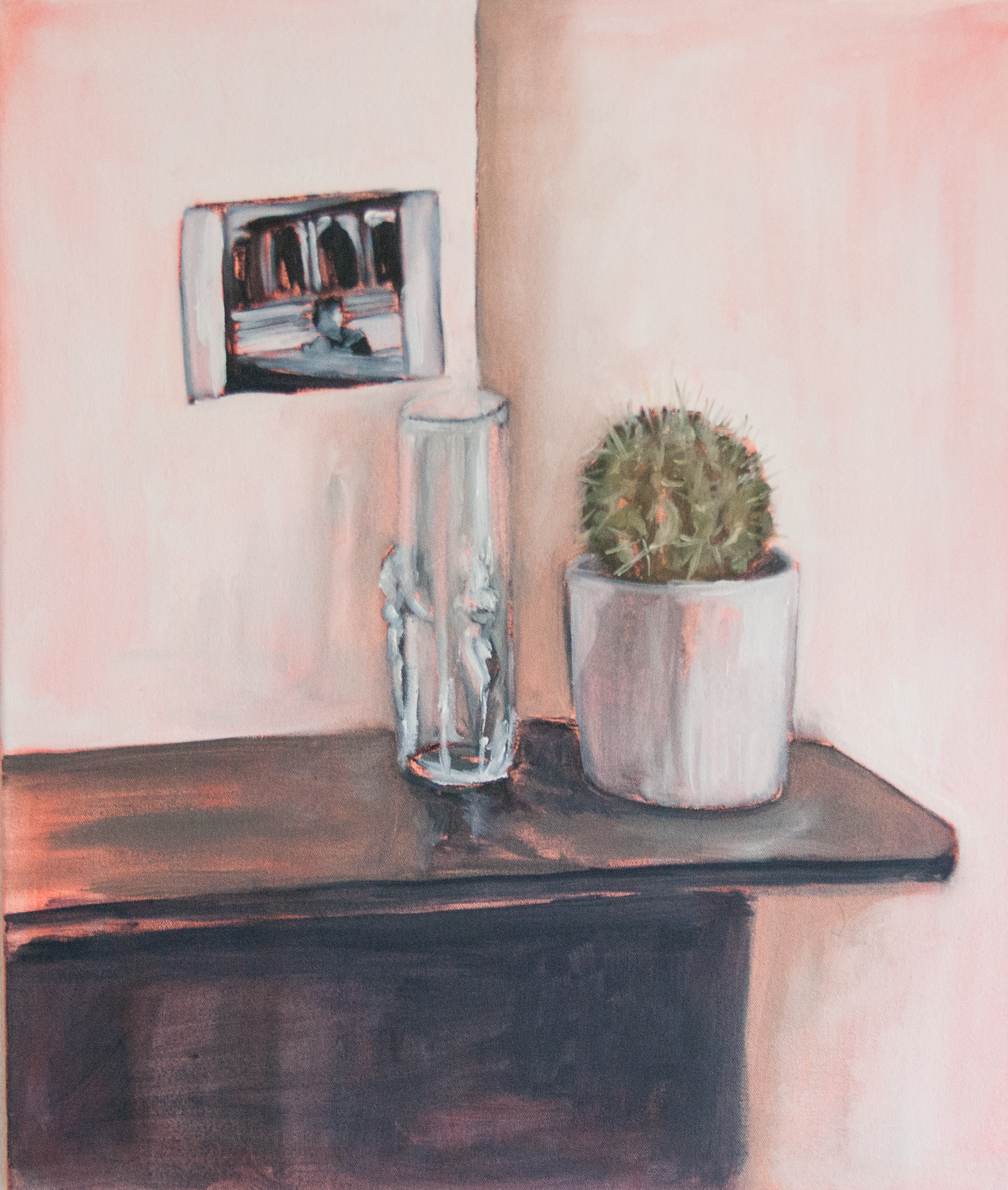 Still Life Day 87. 55x65cm. Oil and acrylic on canvas. 2015.