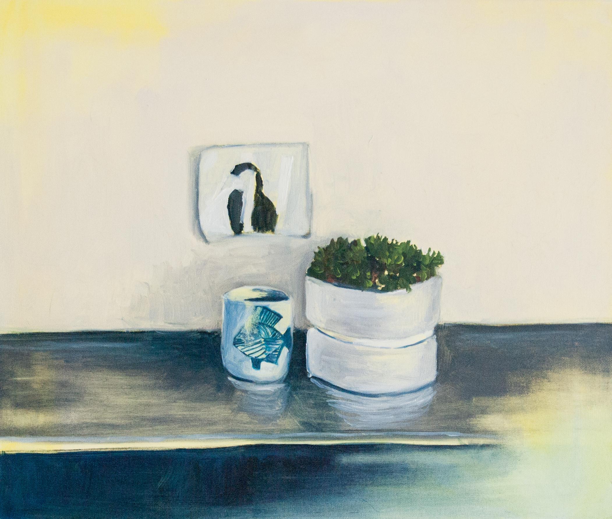 Still Life Day 233. 60x50cm. Oil on canvas. 2016.