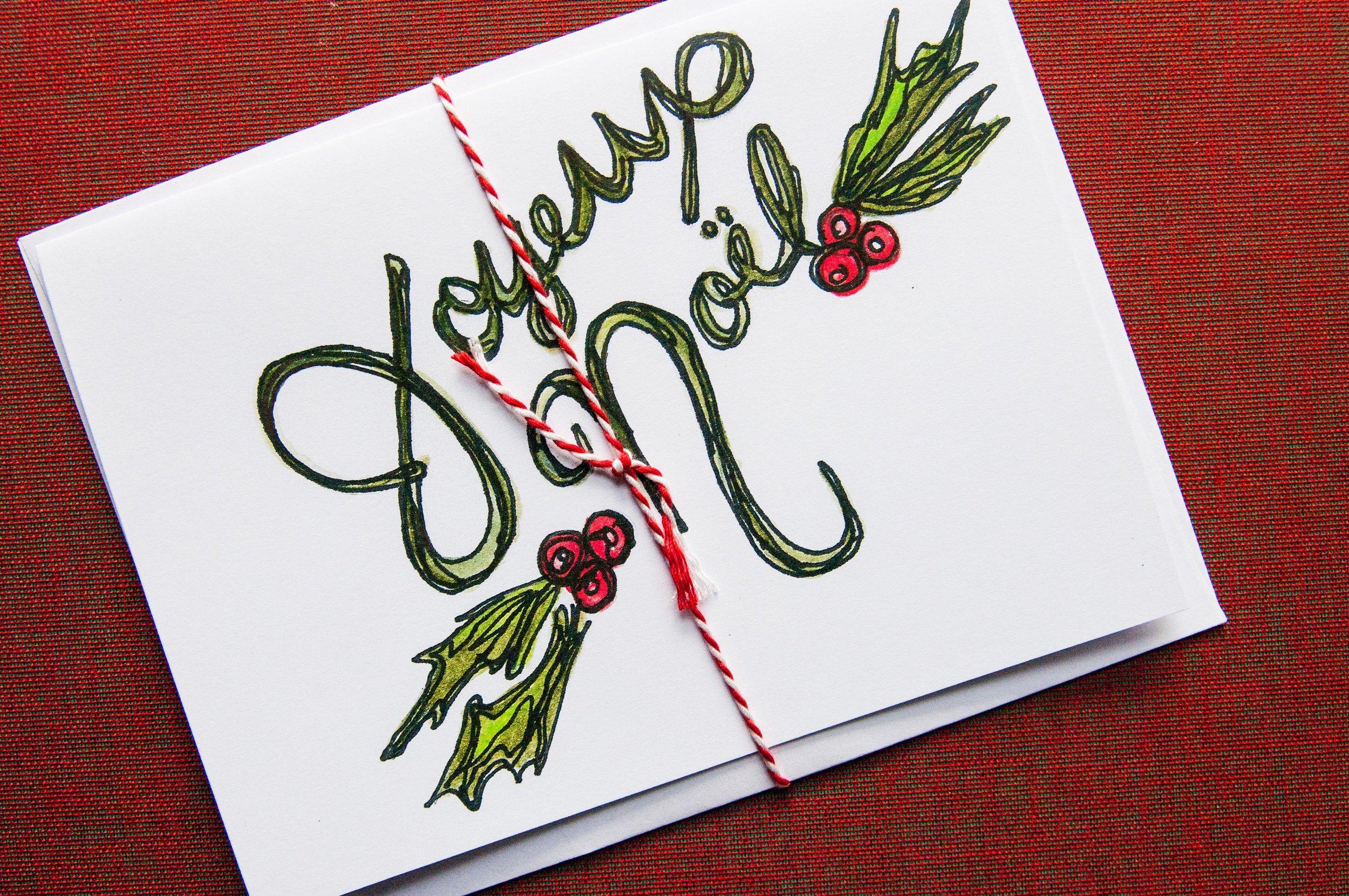 Morgan Schemel holiday cards
