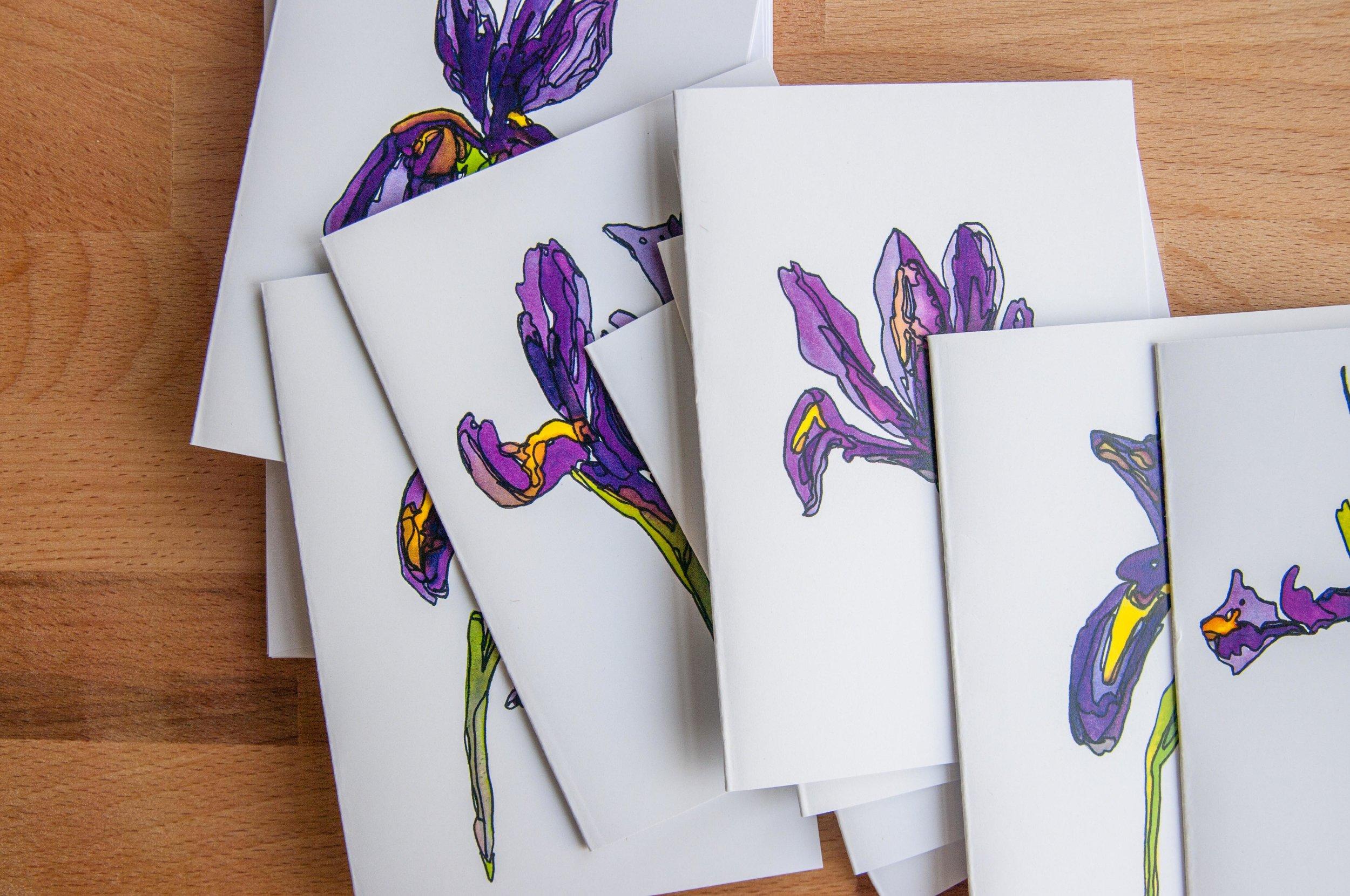Morgan Schemel watercolor cards