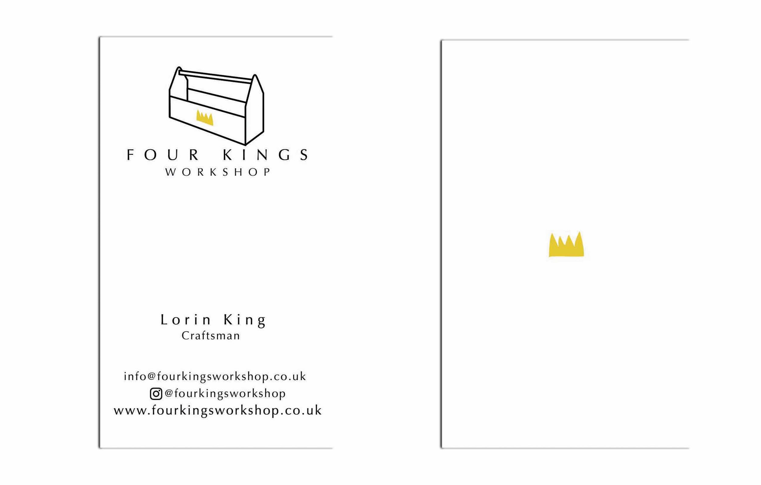 Logo and business card design. May, 2016.
