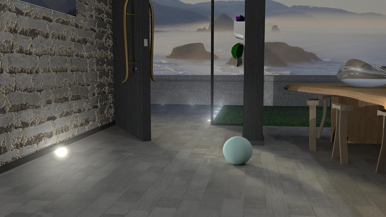 Room designed in Autodesk Maya