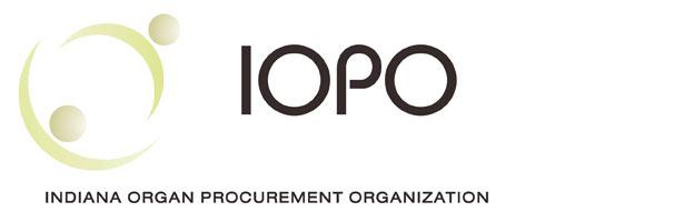 The Indiana Organ Procurement Organization for organ donations