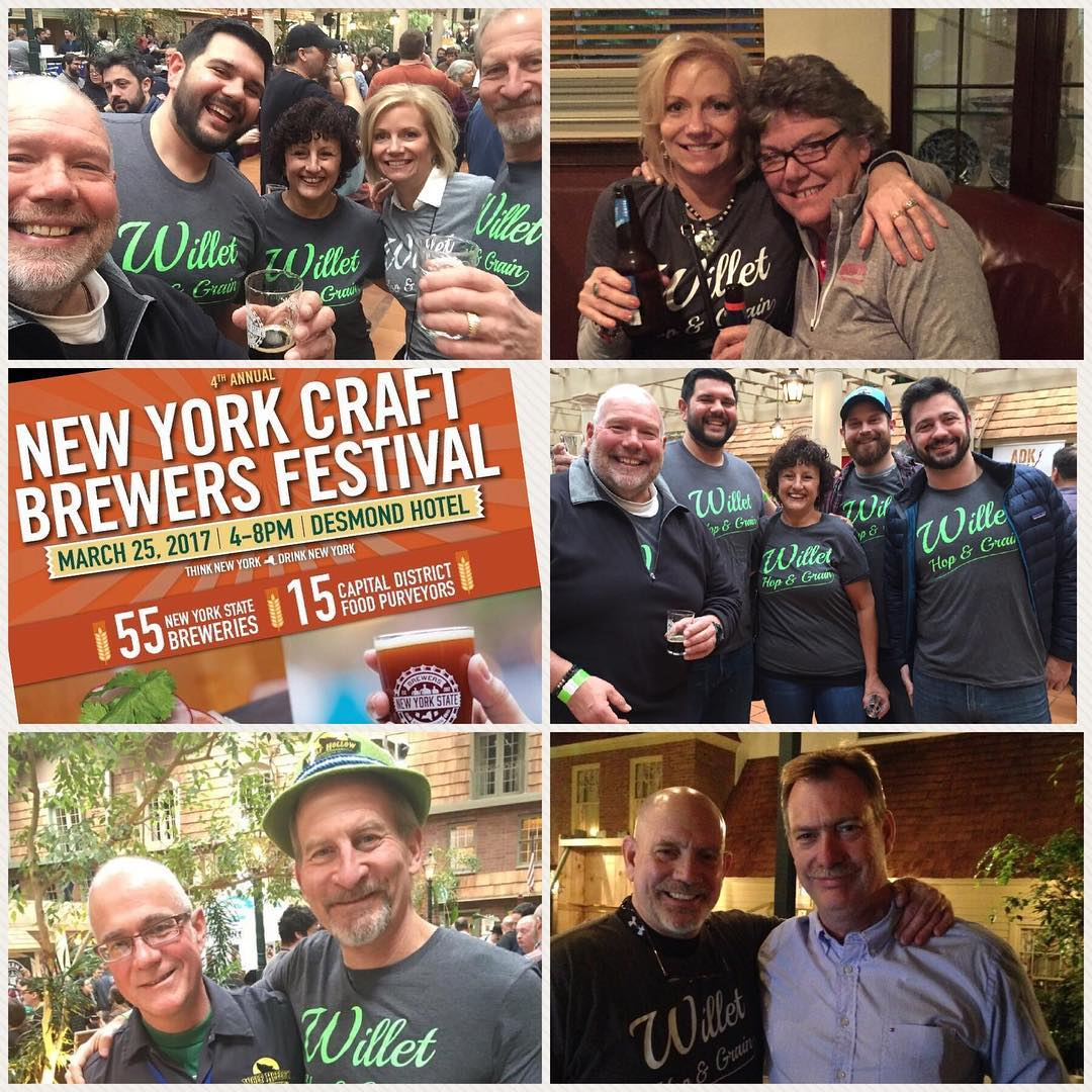 A lot of fun at the Desmond Hotel for the 2017 NY Craft Brewers Fest.