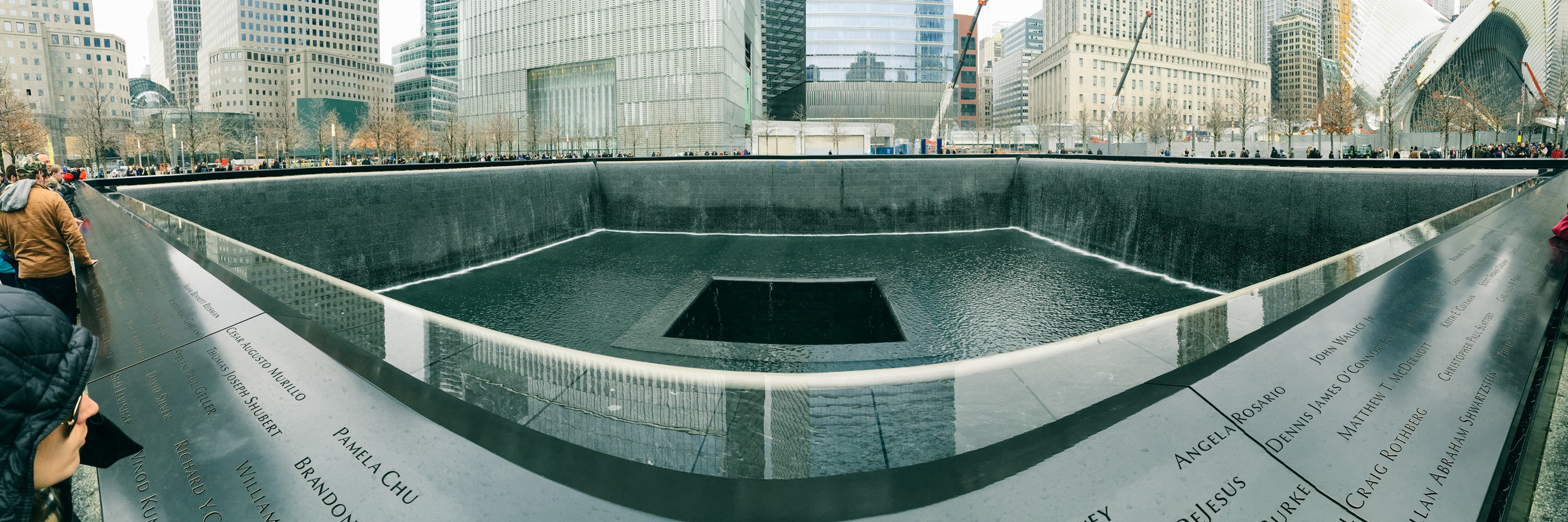 NEW YORK CITY: WORLD TRADE CENTER MEMORIAL