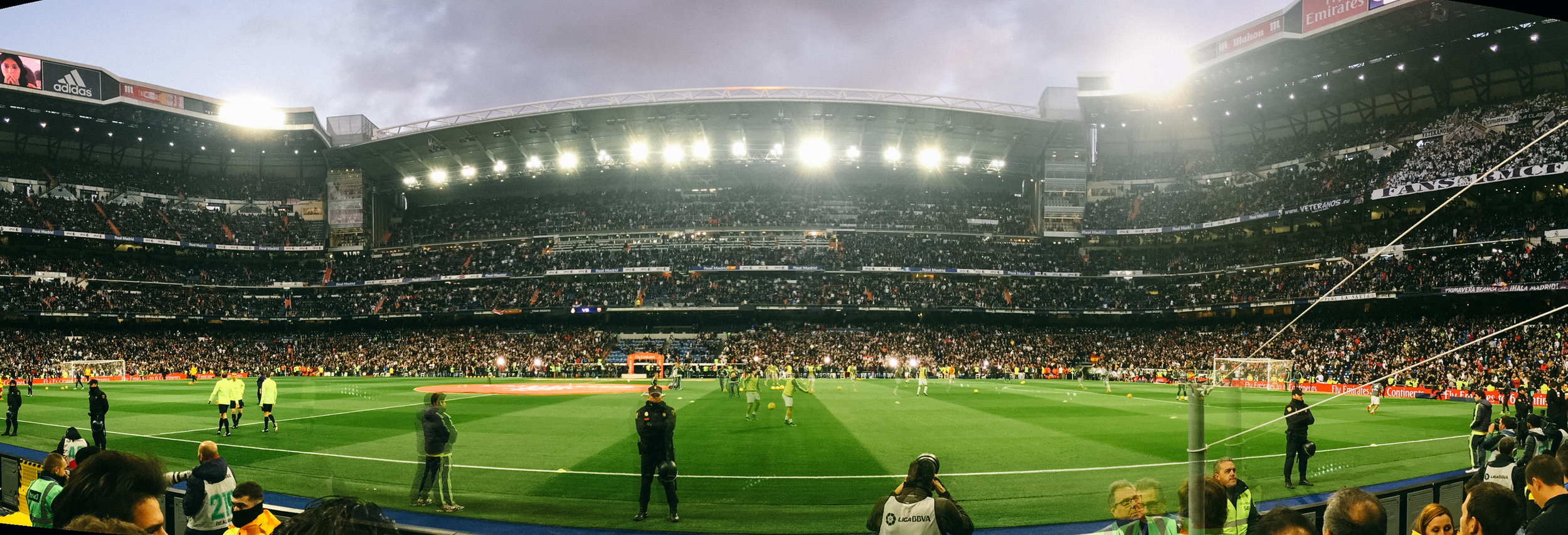 MADRID, SPAIN: Bernabéu Stadium