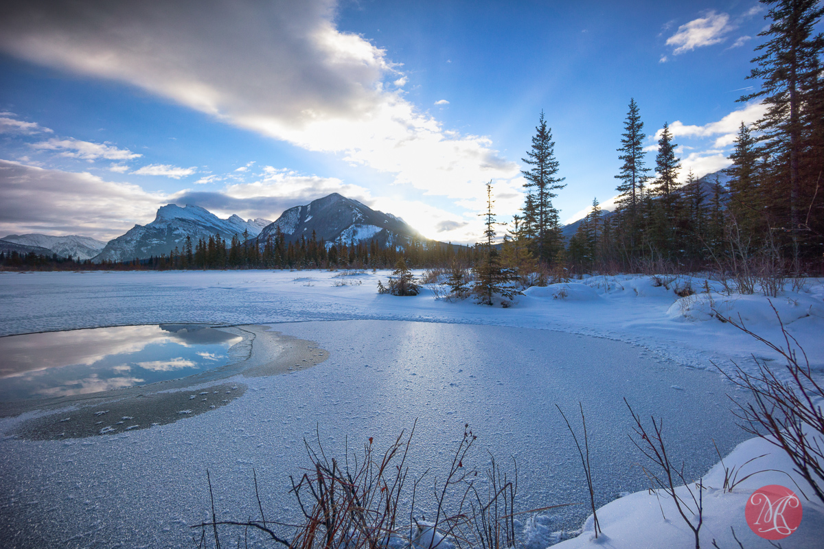 Morning at Vermilion Lakes