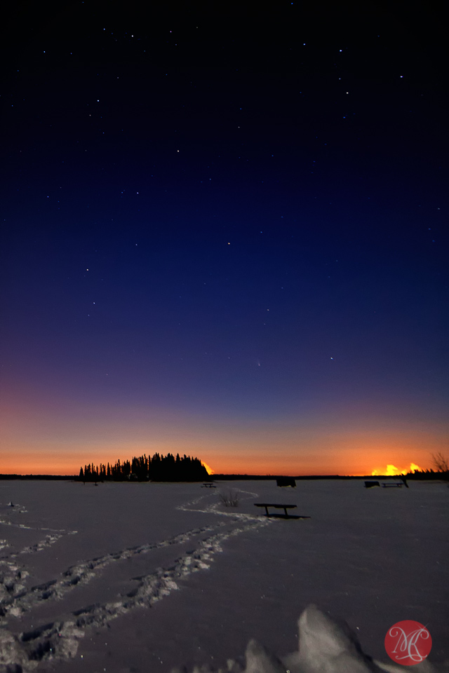 The very faint comet PANSTARRS