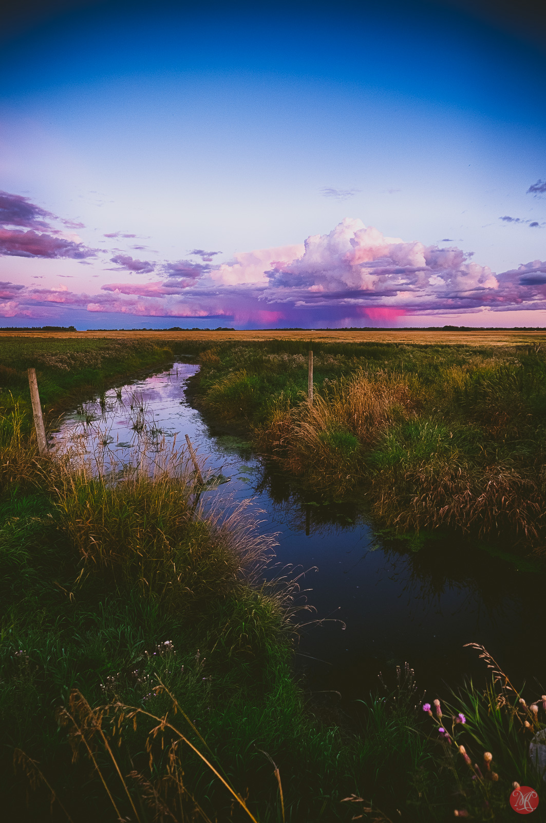 Beautiful Alberta Sunset