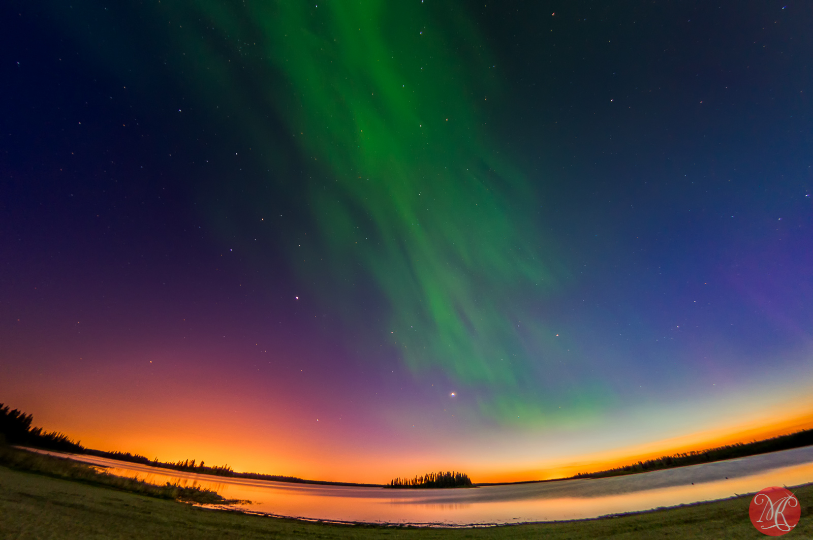 Amazing Aurora night