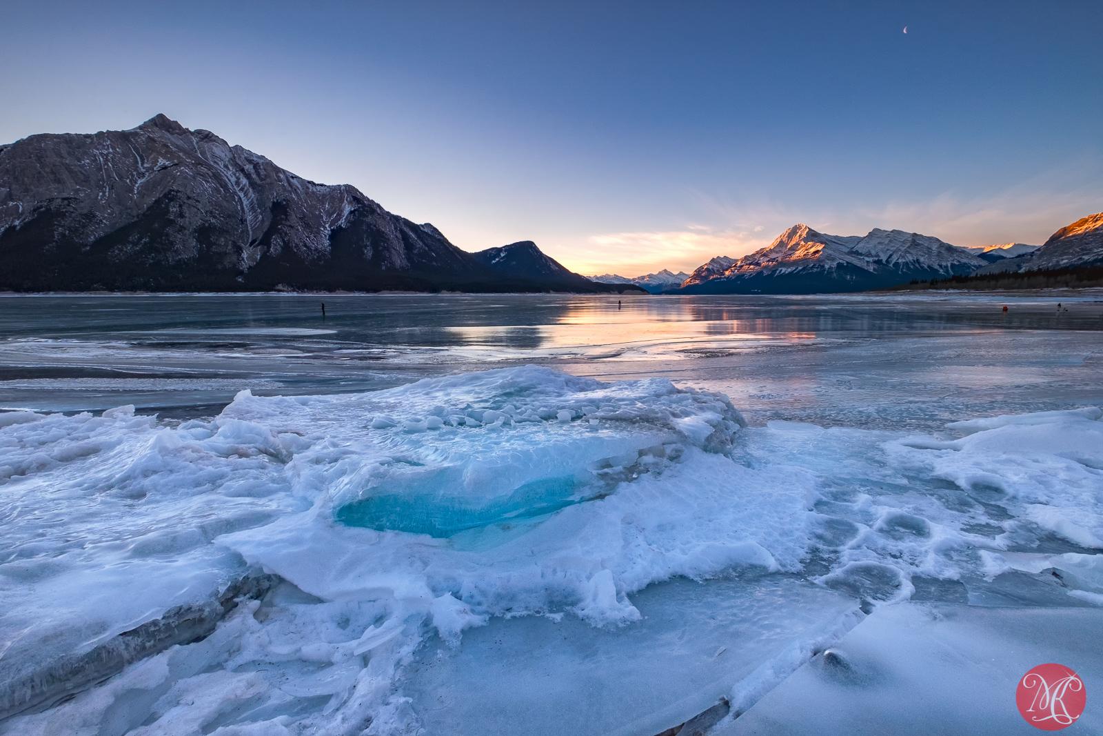 One big chunk of ice