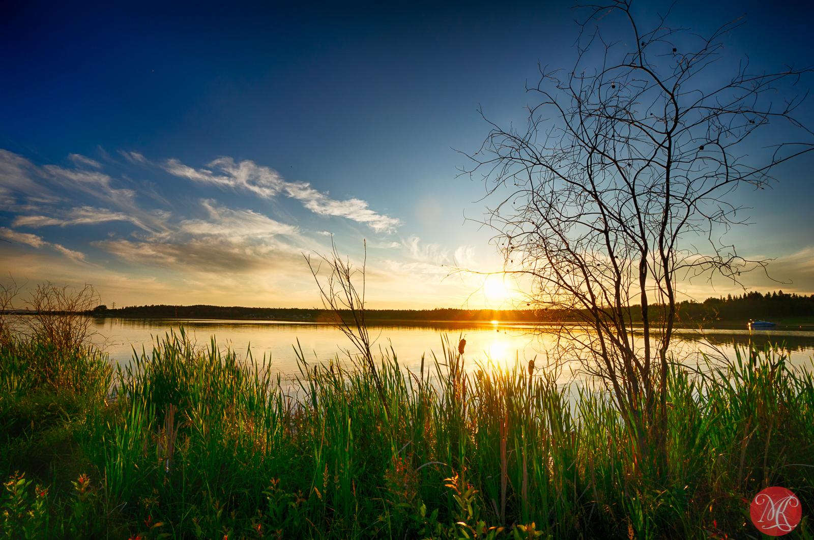 Evening at Wabamun Lake 1