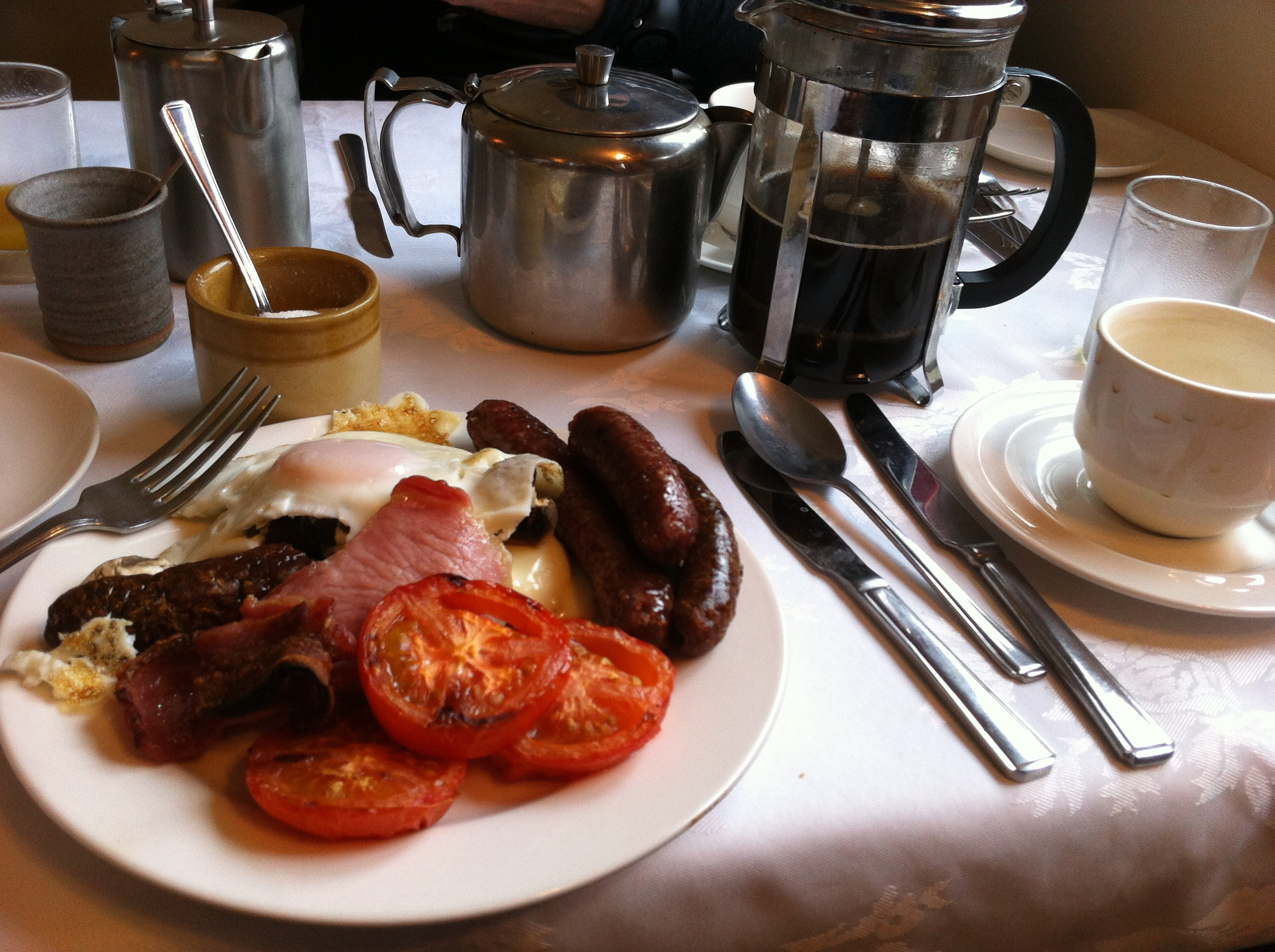 scotland, breakfast, coffee, full english, foodie, wholesome, cycling holidays, bike tour, road cycling, bike trails,