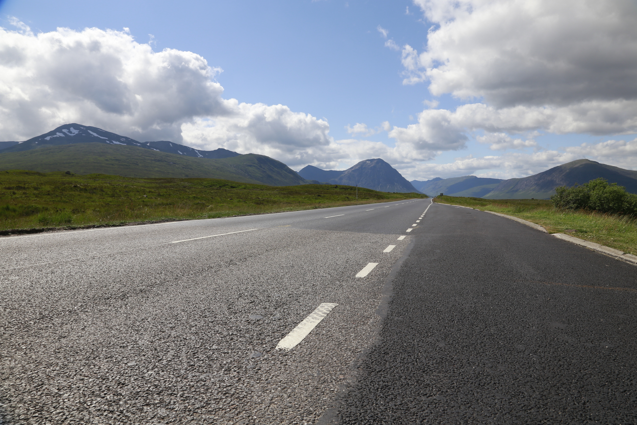 empty road, scotland, highlands, glen coe, natural beauty, landscape photography, photography