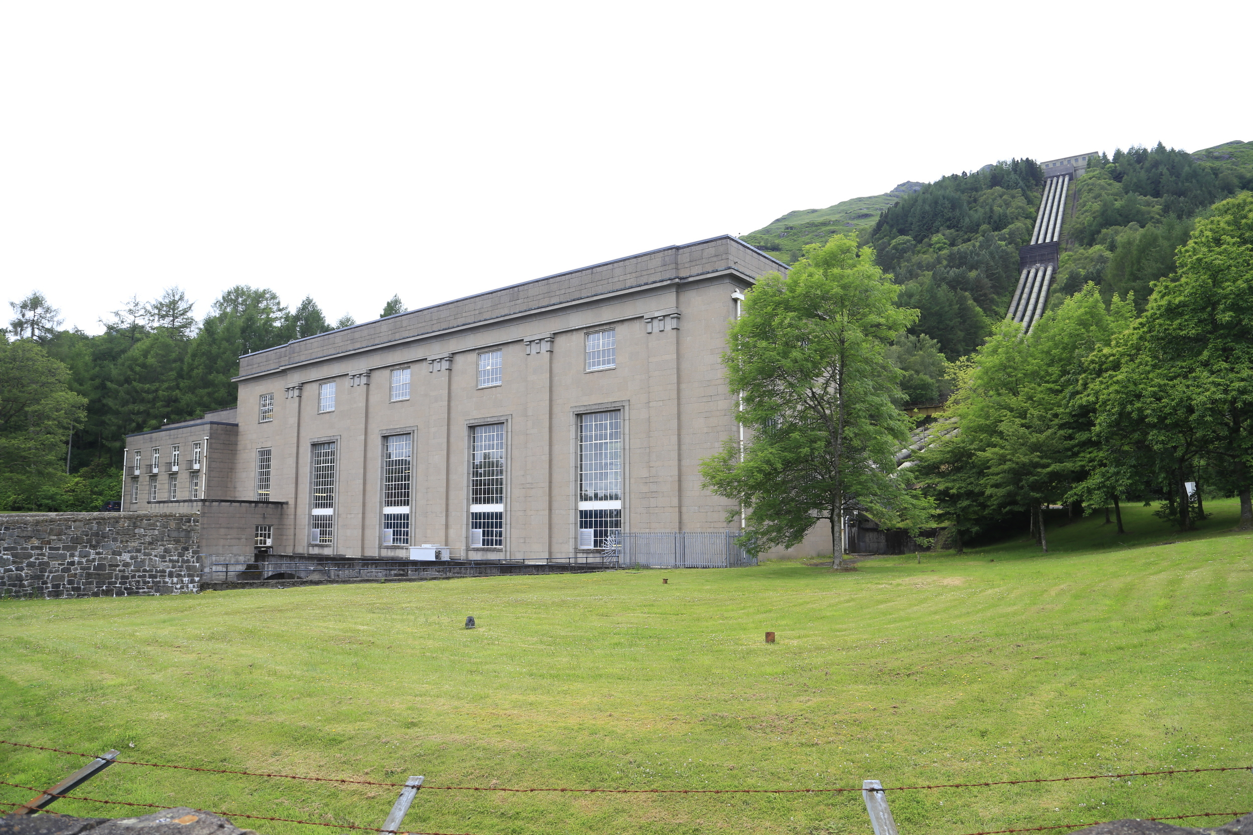 hydro, power station, scotland, cycle, cyce touring, cycle holiday, bicycle touring
