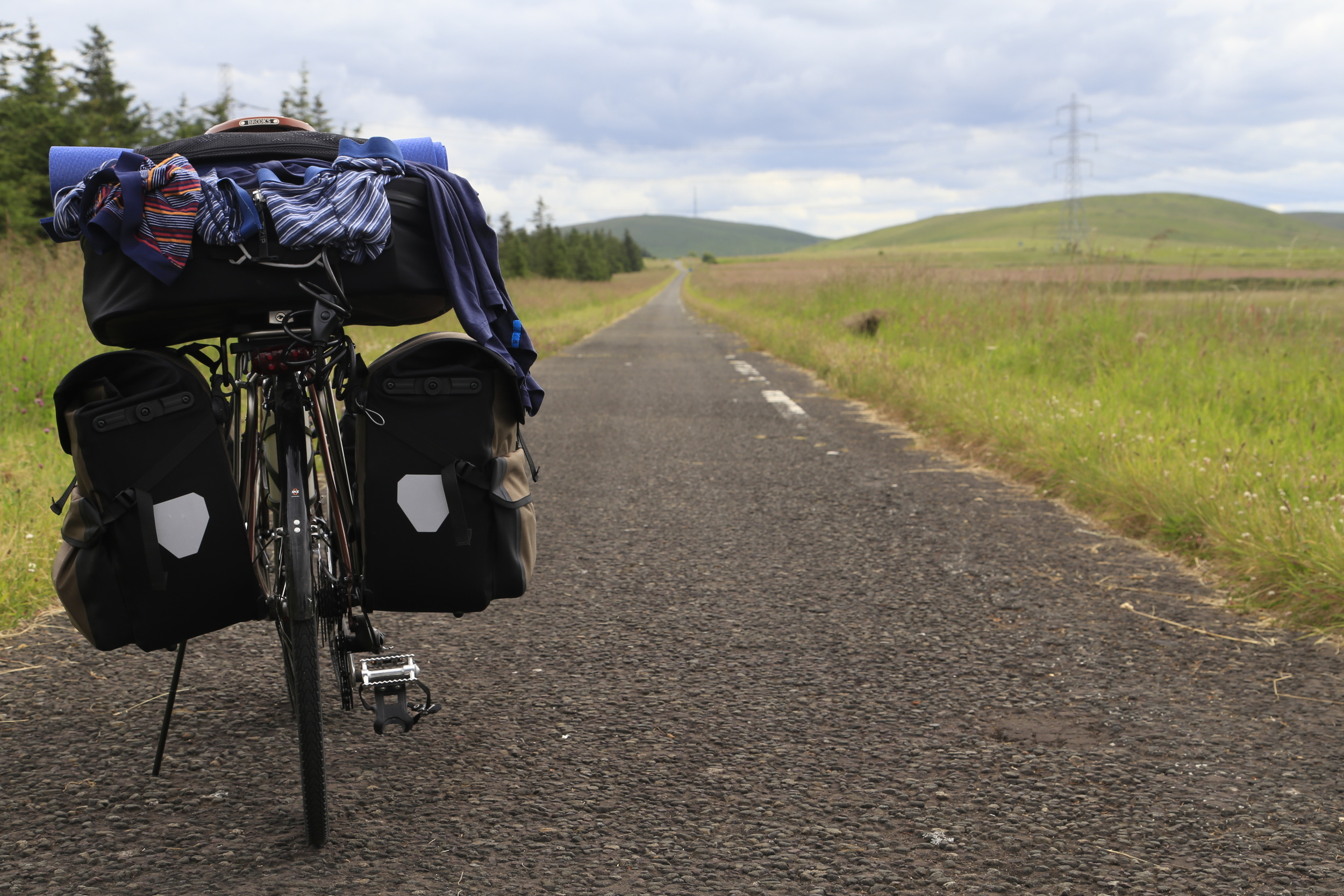 ortlieb, panniers, click stand, click-stand, photography, canon