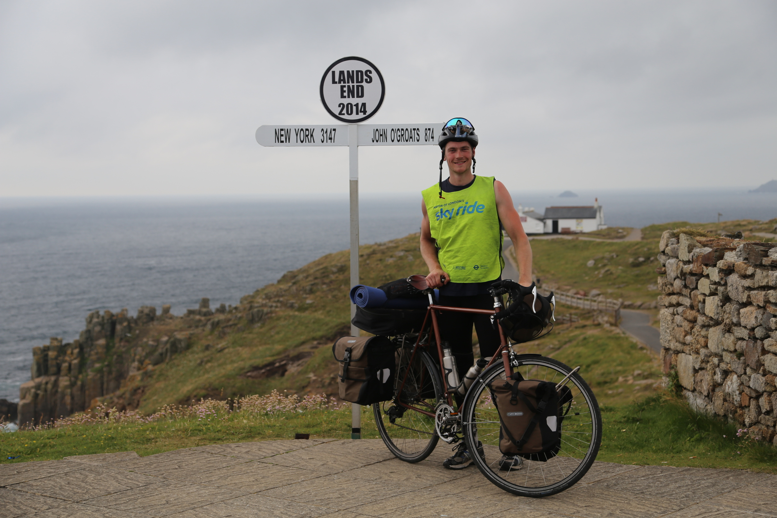 lands end, lejog, touring bikes, bike gear, adventure cycling, ride, bikepacking, cycle routes, touring bicycles