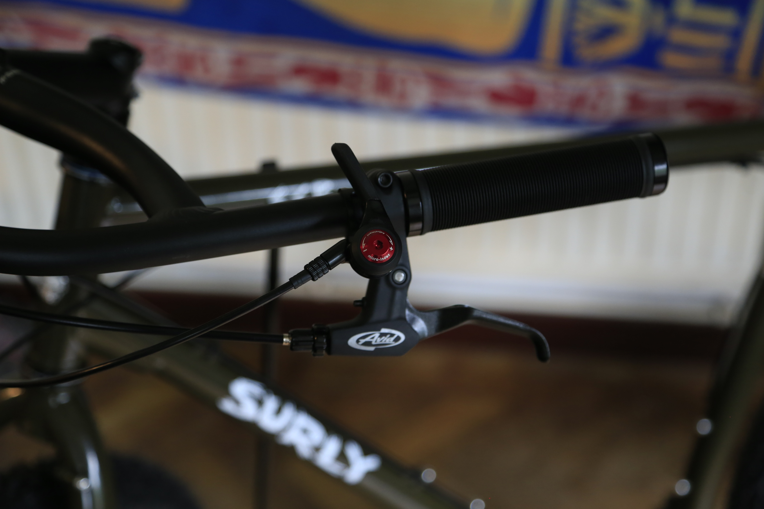 """gear shifter, tension shifter, gears, cycle gear, surly, surly ecr, fat bike, fat biking, knards, 3"""" tyres"""