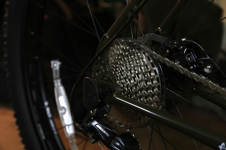 casette, knards, wheel, surly, surly ecr, ecr, Surly ECR, fat bike, bikepacking, 29er