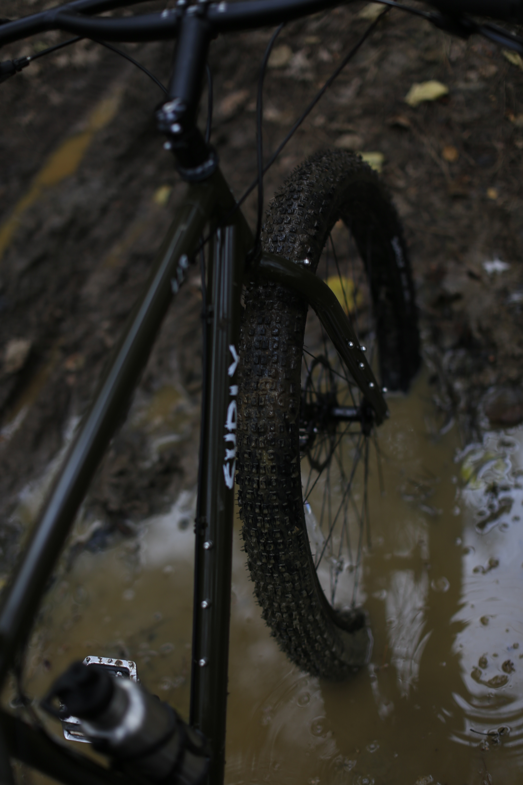 "surly ecr, bog, mud, knards, 3"" tyres, adventure, cycling"
