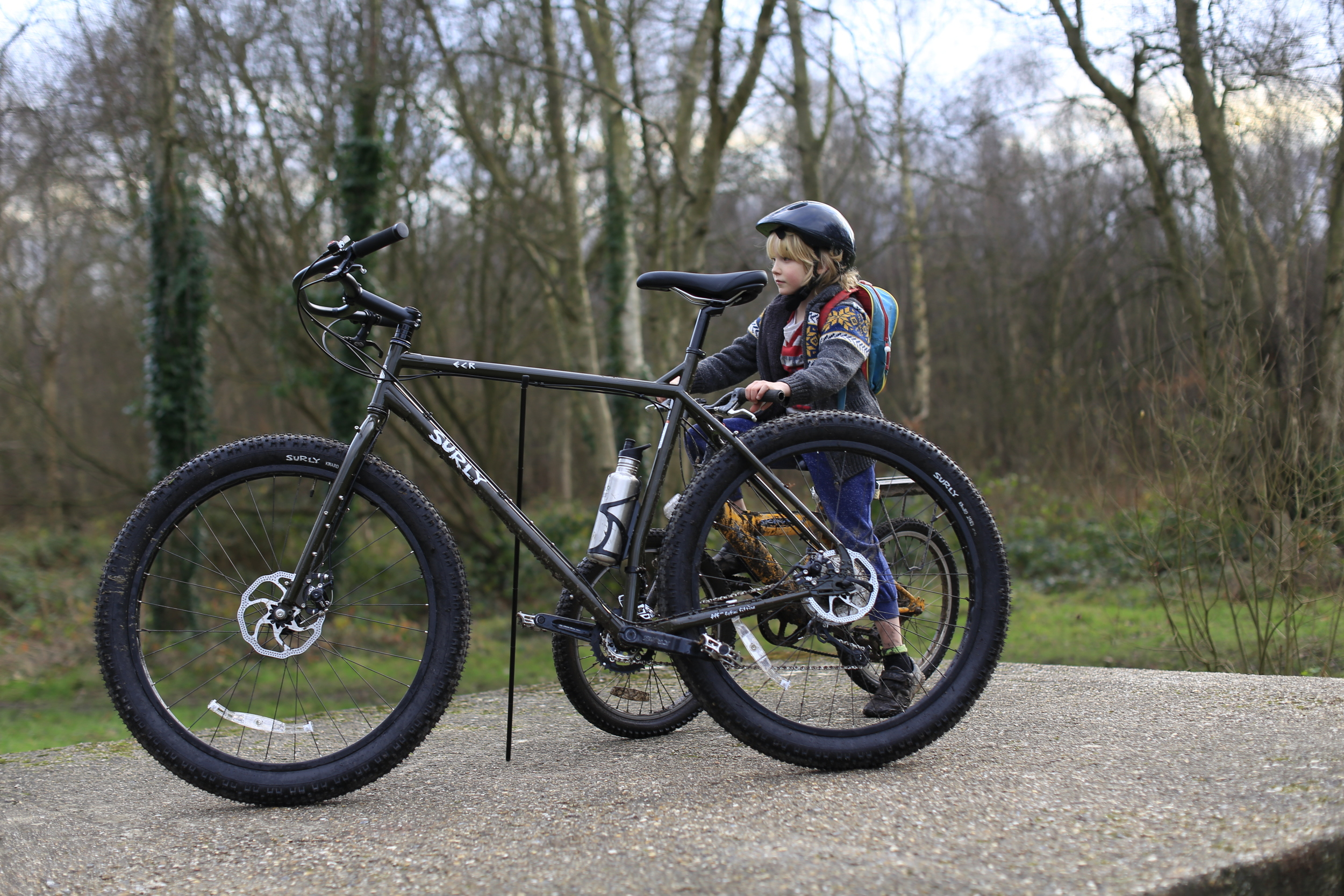 woods, singletrack, surly, surly ecr, mtb, canon, canon 6d, review