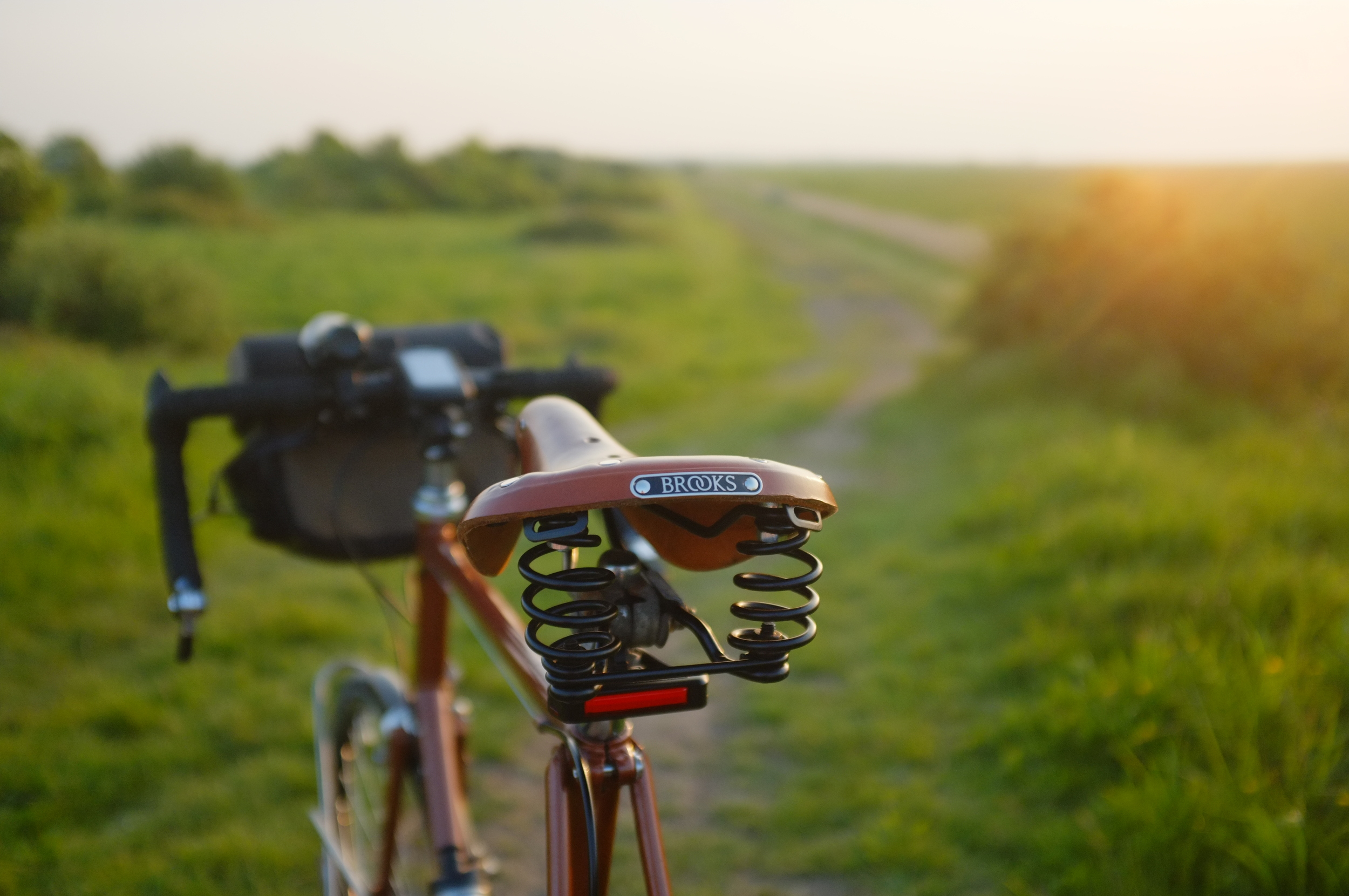 Brooks, brooks saddle, flyer, b17, bicycle touring, cycle touring, cycle gear, review, blog