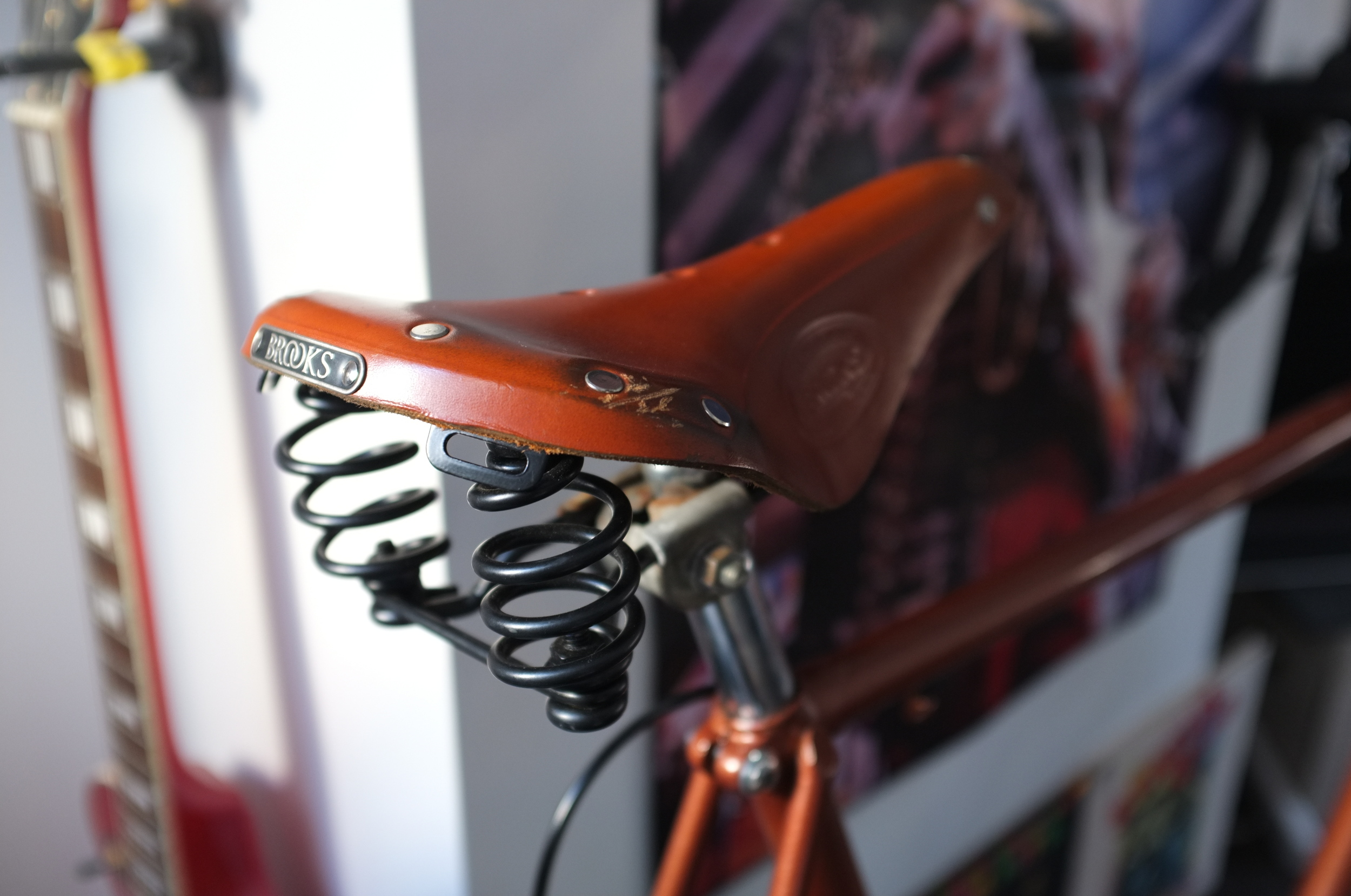 brooks, brooks saddle, brooks flyer, brooks b17, cycle gear, review, blog, custom, bicycle, bike, canon, canon 6d, cycle touring, bikepacking
